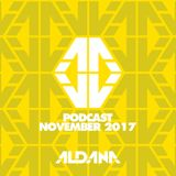 ALDANA - NOVEMBER PODCAST 2017