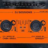 TECHNICS DJ SESSIONS SA - Mixed by DJ Speedy