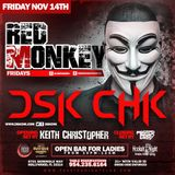 Dj Keith Christopher LIVE @ Red Monkey Room at Passion Seminole Hard Rock (2014)