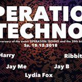 Ribbit @ 2 Jahre Operation Techno - 15.12.18