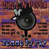 Femme Fo' Rap - Chill n Peppa - Billy Jordan - 21.02.2015 - GR4U Radio