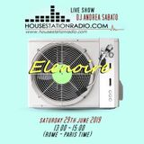 ELENOIRE Dj Andrea Sabato live on HOUSE STATION RADIO 29.06.19