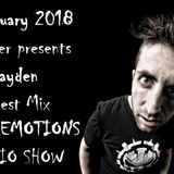 RAVE EMOTIONS RADIO SHOW (13RaVeR) - 3.01.2018. Rayden Guest Mix @ RAVE EMOTIONS