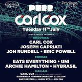 Jon Rundell Live @ Pure Carl Cox, Privilege Ibiza 11/07/17