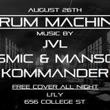 Drum Machine 001 - Live from Li'Ly Lounge