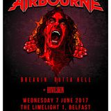 Interviews with Devilskin and Airbourne on the Friday NI Rocks Show 9th June 2017
