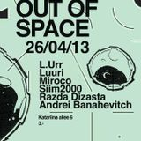 Miroco live @ out of space 10th 27th april 2013