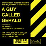 A Guy Called Gerald @ Eastern Bloc Records (02/07/16)