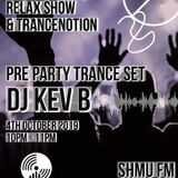 The Rave Relax Show Friday 4th October 2019 - DJ Kev B Guest Mix