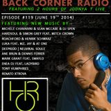 BACK CORNER RADIO: Episode #119 (June 19th 2014)