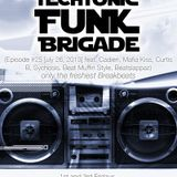 Episode 25 Techtonic Funk Brigade w DJ Justin Johnson on @NSBRadio 7-26-13