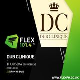 Dub Clinique show on Flex fm with Threshold & Due Diligence 09-08-18