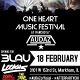 AUDAZ LIVE @ ONE HEART MUSIC FESTIVAL