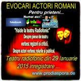Daca doriti !!!! ? emisiune inregistrata ! de la Radio Prodiaspora... din data de 9 ianuarie 2015