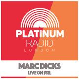 Marc Dicks (Pop Up) 18th June 2017 @ 8pm - Recorded Live on PRLlive.com