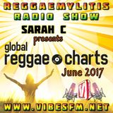 The Global Reggae Charts on the Reggaemylitis Radio Show, Vibes FM, 28 June 2017