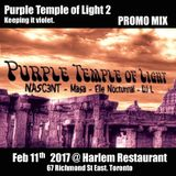 DJ L - Purple Temple of Light 2 (Feb 11th 2017) - Promo mix (Swerve House and DNB)