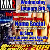 Loyal Listener Show. Miami Mike Radio. Jan. 9, 2019. (part 2)