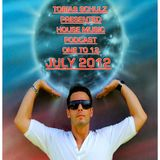 ONE TO 12. HOUSE MUSIC PODCAST JULY 2012 - MIXED BY TOBIAS SCHULZ