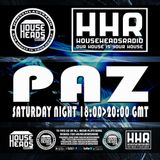 Paz - The Departure Lounge - Fresh N Funky - HOUSEHEADSRADIO.COM