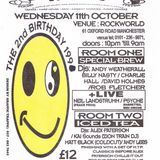 Charlie Hall (Drum Club) at Herbal Tea Party's 2nd birthday on 11 October 1995 in Manchester