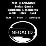 Stefan QandA @ NeoAcid #1 - Petrol Antwerpen - 15.04.2016