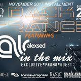 Back2Trance  November 2017 Installment feat. Alexsed