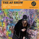 The AF Show 27th November 2016
