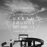 Urban Sounds Set Vol. 11 - February 2016