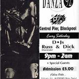 Alfredo, Danza, Oz, Blackpool, 08-02-1992