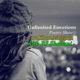 Unlimited Emotions Poetry Show on Khamoshiyaan with Rj Shahani