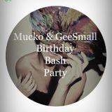 Mucko&GeeSmall Birthday Bash 2013.05.04. live set