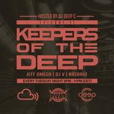 Keepers Of The Deep Ep 11, 12-25-18. Jeff Omega (Philly), DJ V (Chicago), & Nazario (Philly)