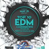 TOP 10 EDM COUNTDOWN with Freestyle Chulo & Dj Lexx 3-15-18