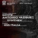 Invite @ BHC: New Faces - Tresor Berlin - 26.11.2014