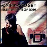 Onirika DJ Set as featured in Elements Ibiza - Benirras (Summer 2016)
