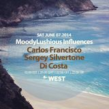 MoodyLushious Influences Episode 38 (June 2014 Edition) (Host Mix By Di Costa)