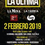 La Última - Sesión Alfonso Cavero 2n Club La Mina 02-02-19