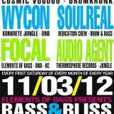 Audio Agent - Live @ Bass & Bliss - 11/03/2012