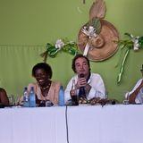 Étonnants Voyageurs Haiti 2012 - Habiter un lieu - Y. Lahens, E. Prophète, J-R Large, Y. Le Men