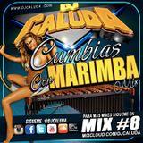 MIX DE CUMBIAS CON MARIMBA DJ CALUDA #8
