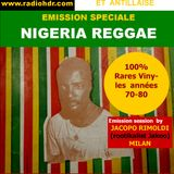 BLACK VOICES émission spéciale NIGERIA REGGAE selection invitation by JACOPO RIMOLDI  RADIO HDR