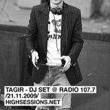 Sadyrbaev - dj set @ Radio 107.7 /2009.11.21/
