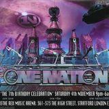 DJ Brockie One Nation 'The 7th Birthday Celebration' 4th Nov 2000