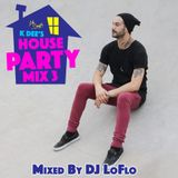 HOUSE PARTY MIX 3 - DJ LOFLO (OLD SCHOOL)