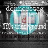 donnerstag LIVE!! THE RESIDENCY @ SWR episode 010 NYC underground