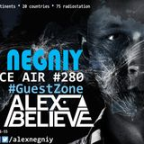 Alex NEGNIY - Trance Air #280 [ #GuestZone: Alex BELIEVE ]