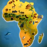 Cajas de Música Difíciles de Parar-Especial Música de algunos países del Continente Africano 1ºprog.