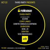 Third Party LIVE @ Release Party #ADE16
