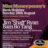 Miss Moneypennys Radio Show with Jim Shaft Ryan